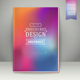 Smooth colorful background design for book cover Royalty Free Stock Photo