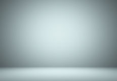 Smooth Light blue Studio well use as background,bussiness report Royalty Free Stock Photography