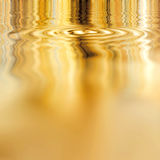 Smooth Liquid Gold Royalty Free Stock Images
