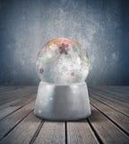 Snow sphere Stock Photos
