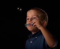 Soap bubble fun Stock Photography
