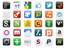 Social Media Buttons [2] Stock Photography