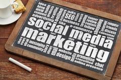 Social media marketing Stock Photos