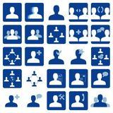 Social network icon Royalty Free Stock Images