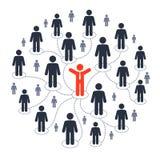 Sociale media marketing Stock Afbeeldingen