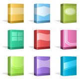 Software Boxes, Ebook Cover Designs Stock Image