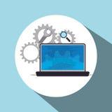 Software-Ikonendesign Stockbilder