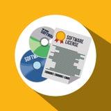 Software-Ikonendesign Lizenzfreie Stockfotos