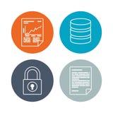 Software-Ikonendesign Lizenzfreies Stockfoto