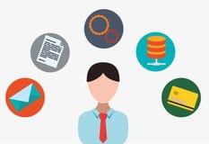 Software-Ikonendesign Stockbild