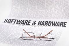 Software news Stock Photo