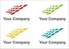 Solar panels logo Stock Photo