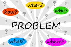 Solving the problem Stock Images