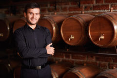 Sommelier Stock Photography