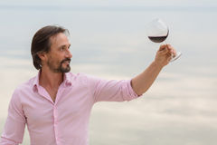 Sommelier Royalty Free Stock Image