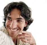 sourire d'homme Images libres de droits