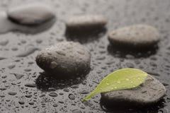 Spa massage stones Stock Image