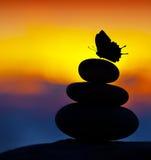 Spa stones balance Stock Photography