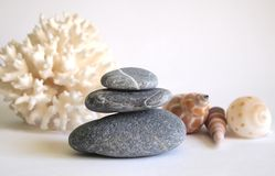 Spa stones Royalty Free Stock Photos