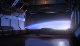 Space door Stock Image