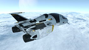 Space ship Stock Photo