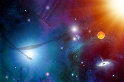 Space and Time Royalty Free Stock Photos