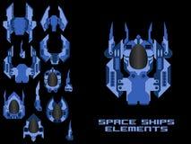 Spaceship Creation Kit Royalty Free Stock Image