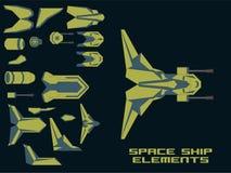 Spaceship Creation Kit Royalty Free Stock Photo