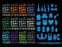 Spaceship Creation Kit Stock Photo