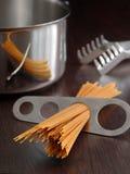 Spaghetti portion Royalty Free Stock Photos