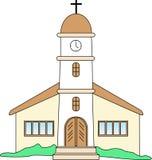 Spanish Church Royalty Free Stock Photo