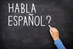 Spanish Learning language Royalty Free Stock Photo