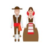 Spanish national costume Stock Image