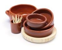 Spanish tableware variety Stock Photography