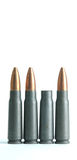 Spent rifle casing Stock Image