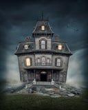 Spookhuis Royalty-vrije Stock Fotografie