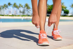 Sport Fitness Exercise lifestyle running concept Royalty Free Stock Photos
