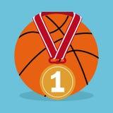 Sport icons design Stock Photos