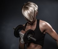 Sporty athletic woman Stock Photography