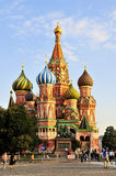 St Basil`s church in Moscow Stock Photos