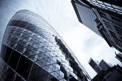 St marys axe city of london architecture uk Stock Photos