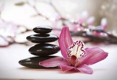 Stack of Zen Stones Stock Images