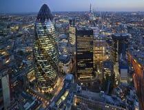 Stad van Londen, het UK Stock Fotografie