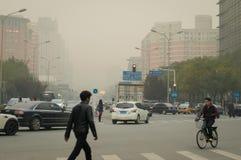 StadtLuftverschmutzung Stockfotos