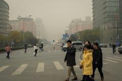 StadtLuftverschmutzung 2 Lizenzfreie Stockfotos