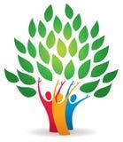 Stammbaum-Logo Lizenzfreies Stockbild