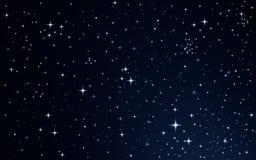 Stars in the night sky Stock Photos