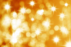 Stars Yellow Background Stock Photos