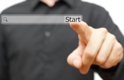 Start your new job,  career or project online. find opportunity Stock Photos