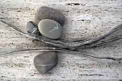 Sticks And Stones Royalty Free Stock Photos
